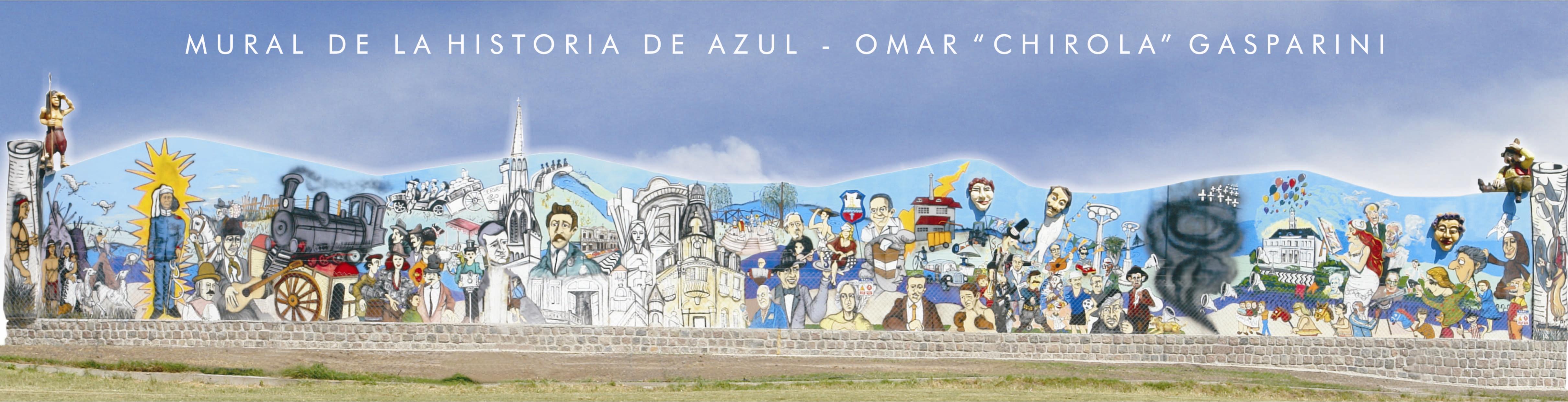 Azul ciudad cervantina de la argentina patrimonio para for El mural pelicula argentina